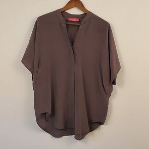 Pookie and Sebastian silk blouse size large